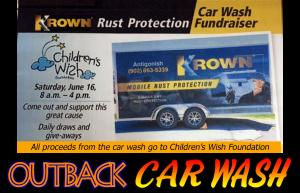 Outback Car Wash - June Promo