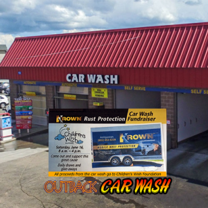 Outback Car Wash - June Promo