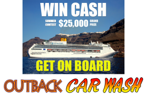 Outback Car Wash - July Promo