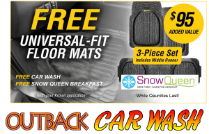 Outback Car Wash - Feb Promo