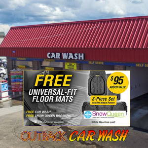 Outback Car Wash - Feb Promo