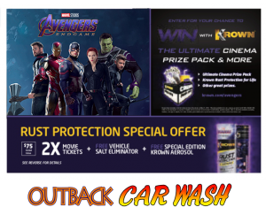 Outback Car Wash - Avengers